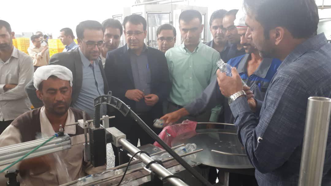 افتتاح گرماخانه و سردخانه لبنیات صنایع شیر دهنگ